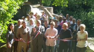 Inauguration du GR62B-GR36 V. Lavergne